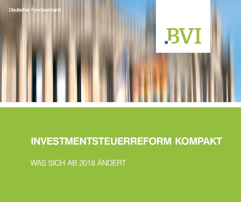 Investmentsteuerreform